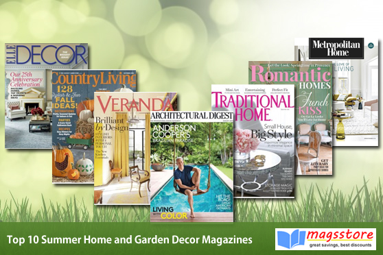 Summer Home And Garden Decor Magazines Magsstore Com