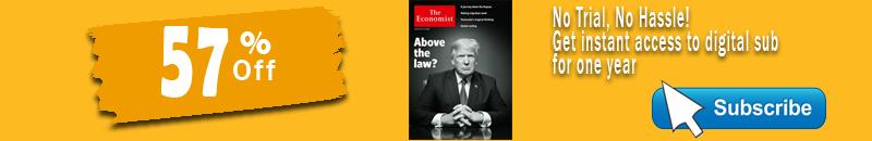 The economist magazine discount deal