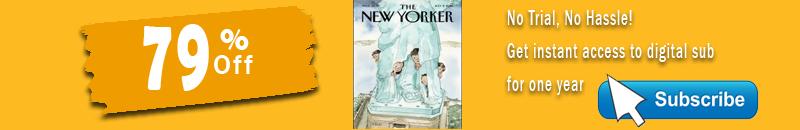 New Yorker Magazine Discount Deals