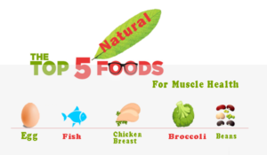 top 5 natural foods for muscle health