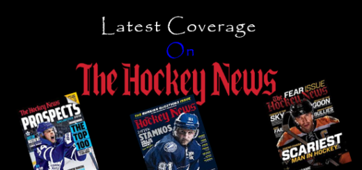 The hockey news magazine subscribtion