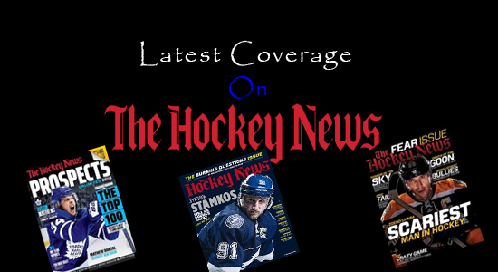 The hockey news magazine subscribtion