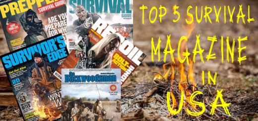 top 5 survival magazine in USA