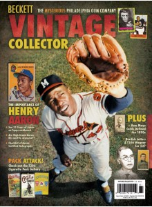 Beckett Vintage Collector Magazine Subscription