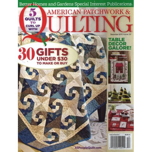 American Scientist Magazine Subscription: American Patchwork & Quilting Magazine Subscription