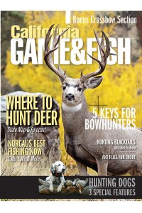 California Game & Fish Magazine