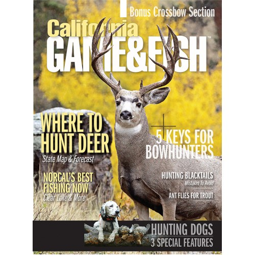 California game fish magazine subscription discount 68 for Ca game and fish