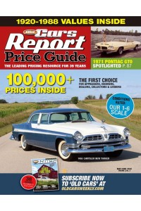 Old Cars Price Guide Magazine