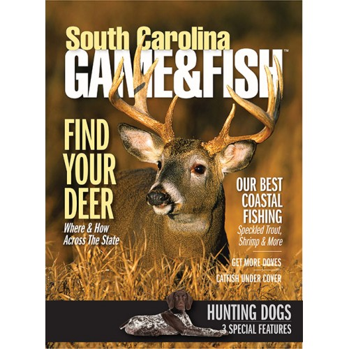 South carolina game fish magazine subscription discount for Game and fish magazine