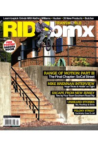 TransWorld Ride BMX Magazine