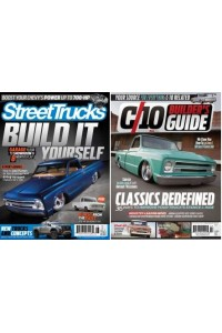 Street Trucks & C10 Builders Guide Combo Magazine