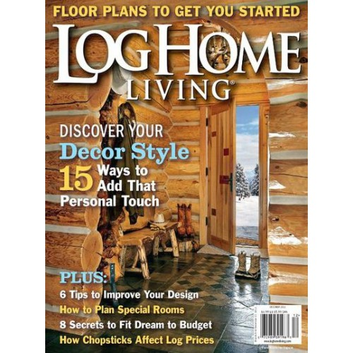 Log Home Living Magazine Subscription; Log Home Living Magazine Subscription