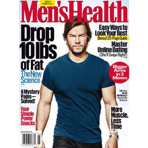 men 39 s health magazine subscription discount 44 magsstore. Black Bedroom Furniture Sets. Home Design Ideas