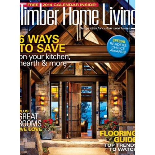 Timber Home Living Magazine Subscription; Timber Home Living Magazine  Subscription