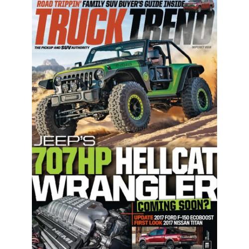 Truck Trend Magazine Subscription Discount 55%