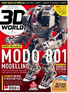 3D World (UK) Magazine