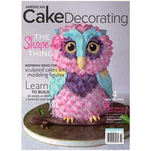 American Cake Decorating Magazine Subscription   Magsstore