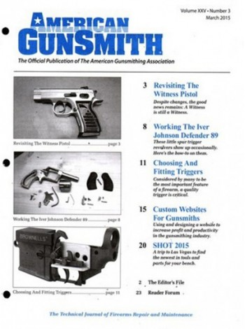 American Gunsmith Magazine Subscription