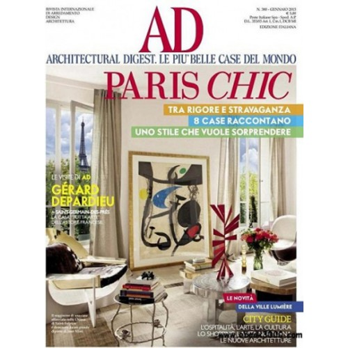 Architectural Digest Italia Magazine Subscription | Magsstore