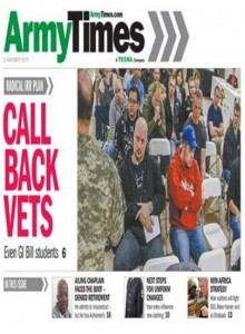 Army Times Magazine Subscription