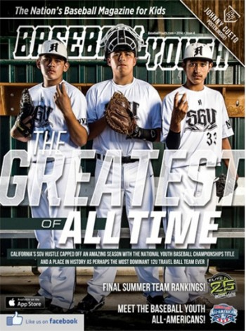 Baseball Youth Magazine Subscription