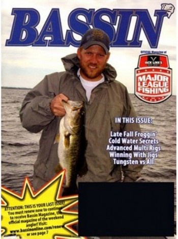 Bassin' Magazine Subscription