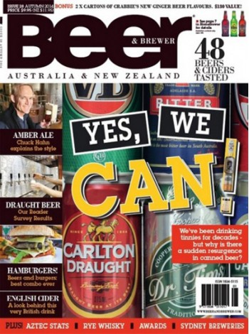 Beer & Brewer Magazine Subscription
