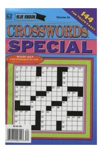 Blue Ribbon Crosswords Special Magazine
