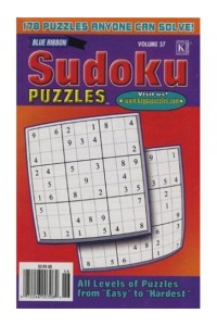 Blue Ribbon Sudoku Puzzles Magazine