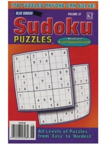 Blue Ribbon Sudoku Puzzles Magazine Subscription