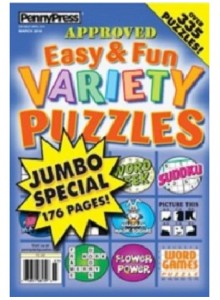 Easy & Fun Variety Puzzles Magazine Subscription