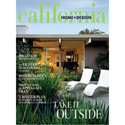 Home Decorating Magazine Subscriptions: California Home & Design Magazine Subscription