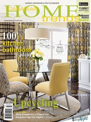 Canadian Home Trends Magazine Subscription