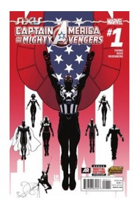 Captain America And The Mighty Avengers Magazine