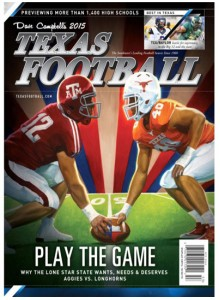 Central TX Football Recruiting Magazine Subscription