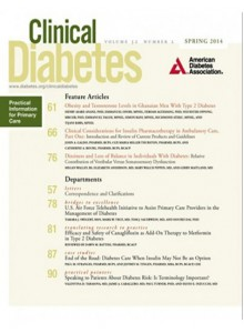 Clinical Diabetes Magazine Subscription