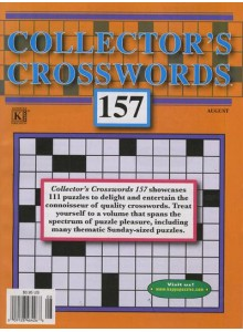Collector's Crosswords Magazine Subscription