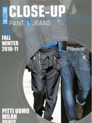 Collezioni Close Up: Men Pants & Jeans Milan/ Paris Magazine Subscription