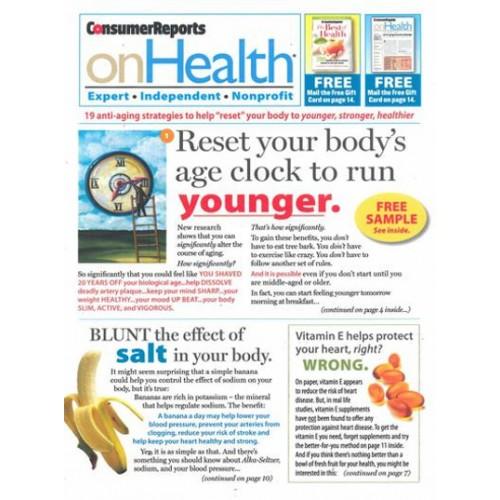 Consumer Guide Magazine: Consumer Reports On Health Magazine Subscription
