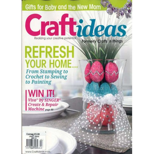 Craft Ideas Magazine Subscription Discount 56 Magsstore