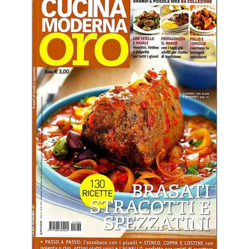 Cucina Moderna Oro Magazine Subscription Discount 15% | Magsstore