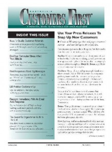Customers First Magazine