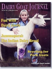 Dairy Goat Journal Magazine