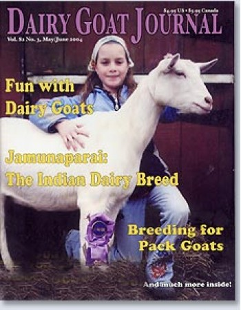 Dairy Goat Journal Magazine Subscription