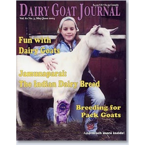 Online Beauty Grooming Journalist Blogger Of The Year: Dairy Goat Journal Magazine Subscription