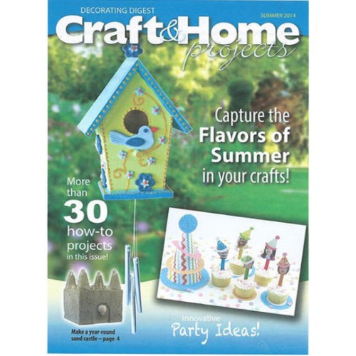Home Decorating Magazine Subscriptions: Craft & Home Projects Magazine