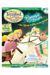 Disney Tangled The Series Magazine