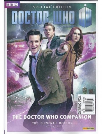 Doctor Who The Eleventh Doctor Magazine Subscription