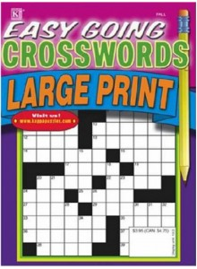 Easy Going Crosswords - Large Print Magazine Subscription