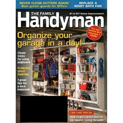 family handyman magazine subscription discount 39 magsstore. Black Bedroom Furniture Sets. Home Design Ideas